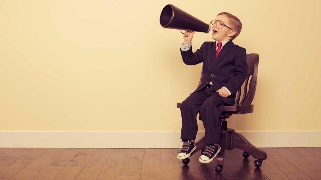 speaking-brochure sales meeting